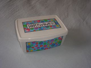 Tiddlywinks box