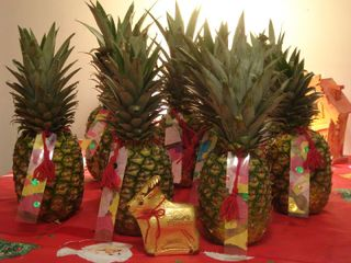Pineapples for teachers