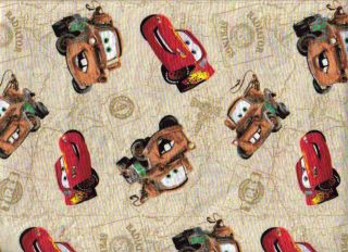 Cars fabric