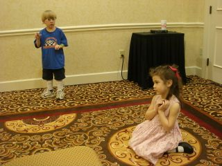 Ella and danny playing damsel and knight