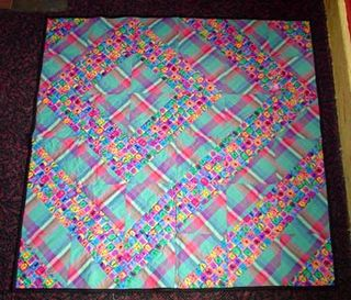 Holly's quilt front