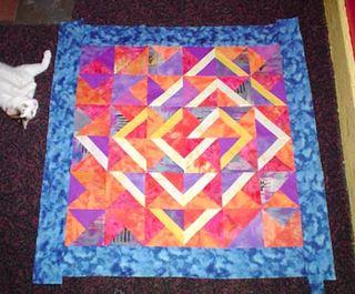 Brenda's quilt top