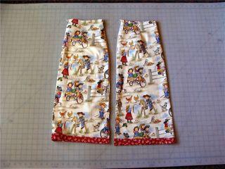 Midi skirt front cut