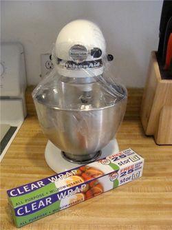 Wrap mixer with plastic