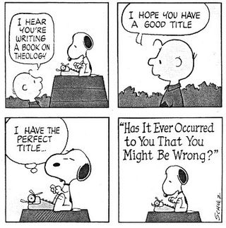 Snoopy humility
