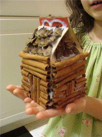 Cinnamon log cabin