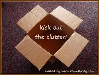 Kick out the clutter badge