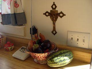 Kitchen harvest corner