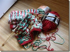 christmas dishcloths