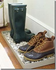 martha stewart pebble boot tray