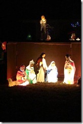 nativity close to home