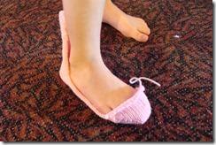 half of a sock