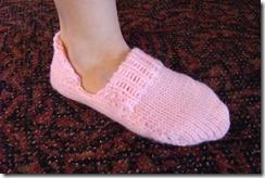 sock became a slipper