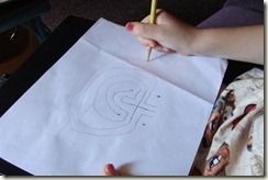 drawing a labyrinth (Medium)