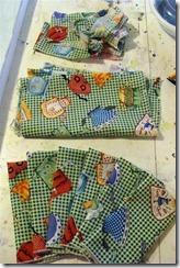 napkins and scraps
