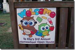 open house banner closeup
