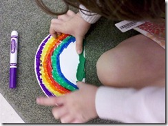spread clay on bottom edge of plate (Medium)