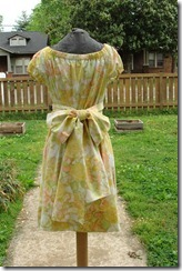 yellow muumuu back