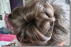 bun before hair net