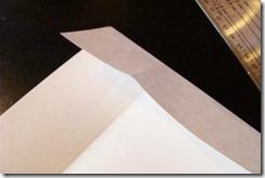 fold second side