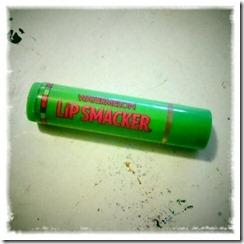 lip smacker.
