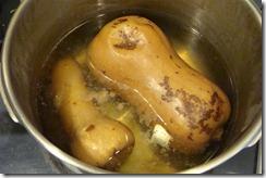 pressure cooking squash