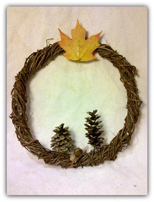 nativity wreath with drop shadow