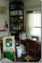 sewing and craft corner