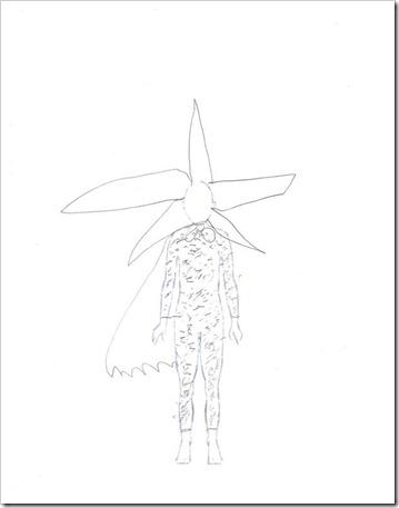 shooting star sketch (Medium)