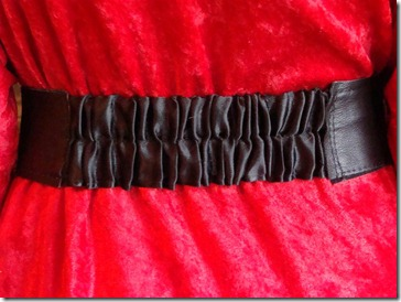 back of belt