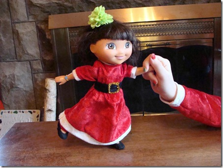 elf dress for dora