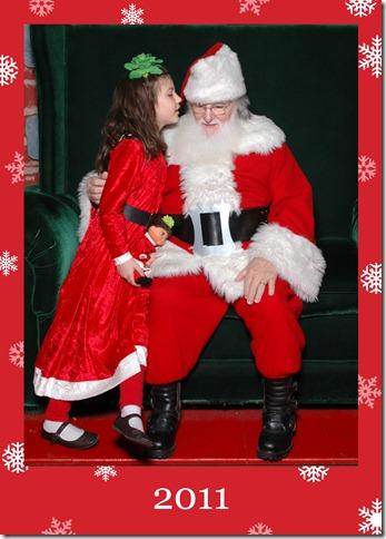 2011 with santa
