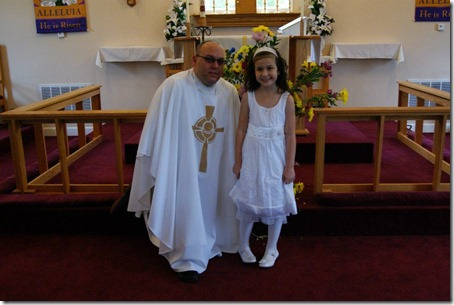 ella with fr. kevin
