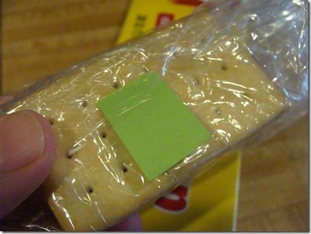 cling wrap pull tab