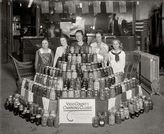 Vintage canning