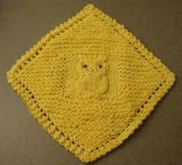 YARNGEAR: A Knitting & Crochet Blog: Diagonal Knit Dishcloth Pattern