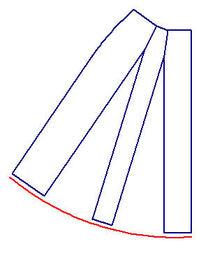 Skirt_front_sloper_second_dart_rotated